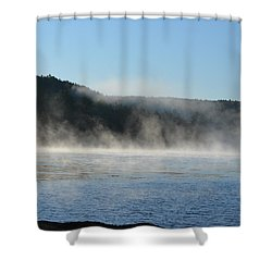 Shower Curtain featuring the photograph Maine Morning by James Petersen
