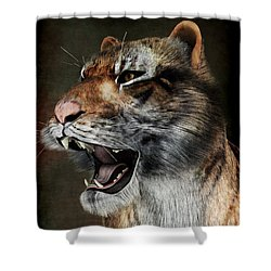 Majestic Beast Shower Curtain