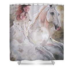 Majestic Flow Shower Curtain