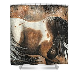 Majestic Horse Series 74 Shower Curtain by AmyLyn Bihrle