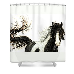 Majestic Horse Series #76 Shower Curtain by AmyLyn Bihrle