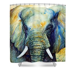 Majestic-iii Dappled Shower Curtain