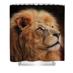 Majestic Lion Shower Curtain