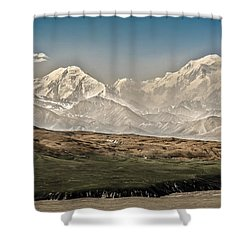 Majestic Mount Mckinley Shower Curtain