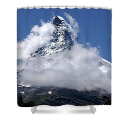 Shower Curtain featuring the photograph Majestic Mountain  by Annie Snel