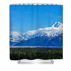 Majestic Mt Mckinley Shower Curtain