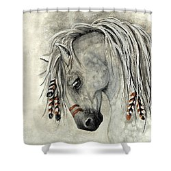 Majestic Mustang 30 Shower Curtain by AmyLyn Bihrle