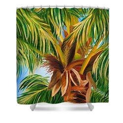 Majestic Palm Shower Curtain