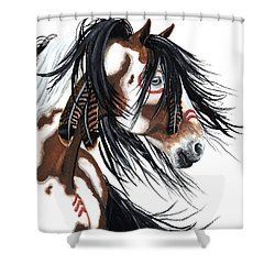 Majestic Pinto Horse Shower Curtain
