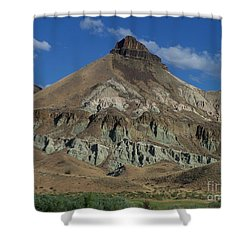 Shower Curtain featuring the photograph Majestic Rimrock by Chalet Roome-Rigdon