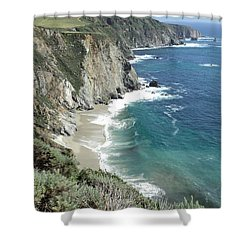 Majestic Sea Shower Curtain by Carla Carson