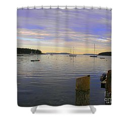Majestic Sunrise Shower Curtain