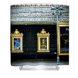 Majestic Theatre Lightpost Shower Curtain