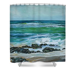 Makapu'u 3 Shower Curtain