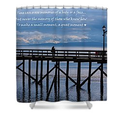 Shower Curtain featuring the photograph Make A Small Moment A Great Moment by Jordan Blackstone