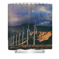 Make It Through Shower Curtain by Laurie Search
