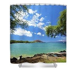 Makena Beach State Park Shower Curtain by Kicka Witte