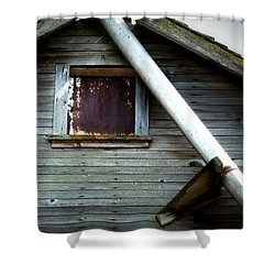 Making Do Shower Curtain by Newel Hunter