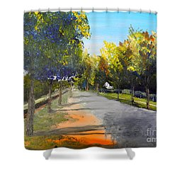 Maldon Victoria Australia Shower Curtain