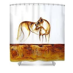 Lioness - Original Artwork Shower Curtain