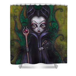Maleficent  Shower Curtain
