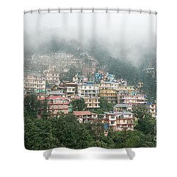 Maleod Ganj Of Dharamsala Shower Curtain