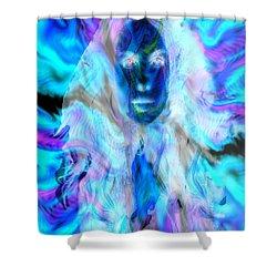 Malestrom Maiden Shower Curtain by Seth Weaver