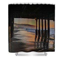 Malibu Color Shower Curtain