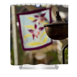 Maliko Shower Curtain by Sharon Mau