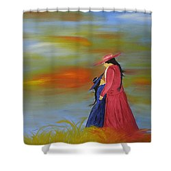 Mama's Love Shower Curtain