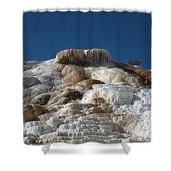 Mammoth Hotsprings 4 Shower Curtain