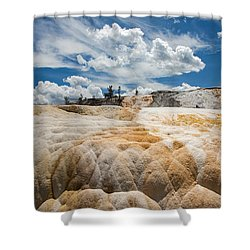 Mammouth Terraces Shower Curtain