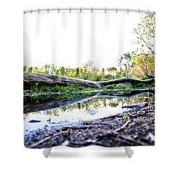 Man Down Shower Curtain