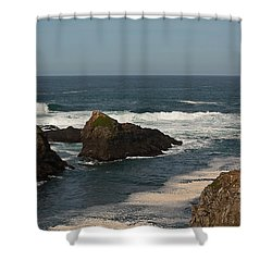 Man Fishing Shower Curtain