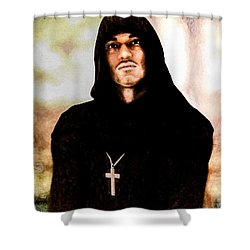 Man Of Peace Shower Curtain by Bob Orsillo