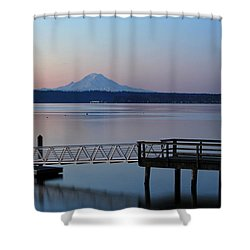 Manchester Pier Shower Curtain