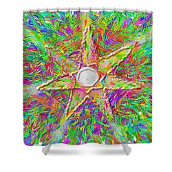 Mandala 1 22 2015 Shower Curtain
