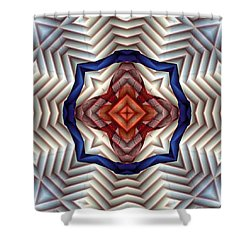 Mandala 11 Shower Curtain by Terry Reynoldson