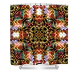 Mandala 120 Shower Curtain by Terry Reynoldson
