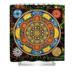 Mandala Elements Shower Curtain