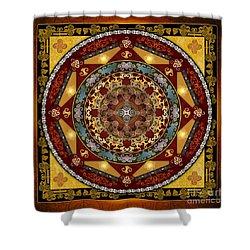Mandala Oriental Bliss Shower Curtain