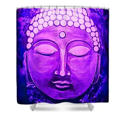 Mandi's Buddha Shower Curtain