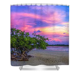 Mangrove By The Bay Shower Curtain