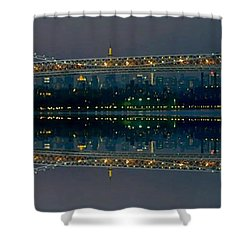 Manhattan Bridge New York Shower Curtain