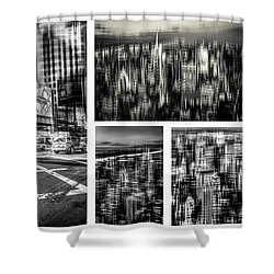 Manhattan Collection I Shower Curtain by Hannes Cmarits