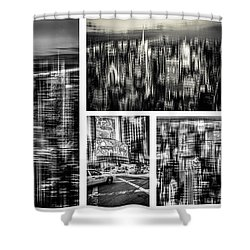 Manhattan Collection II Shower Curtain by Hannes Cmarits