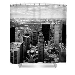 Manhattan Shower Curtain by Dave Bowman
