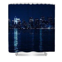 Manhattan Shower Curtain by Mark Ashkenazi