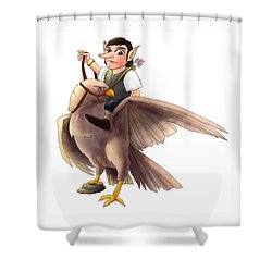 Manheim Shower Curtain