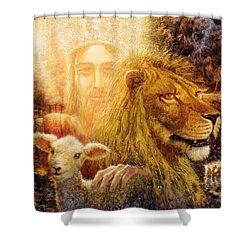 Manifold Majesty Shower Curtain